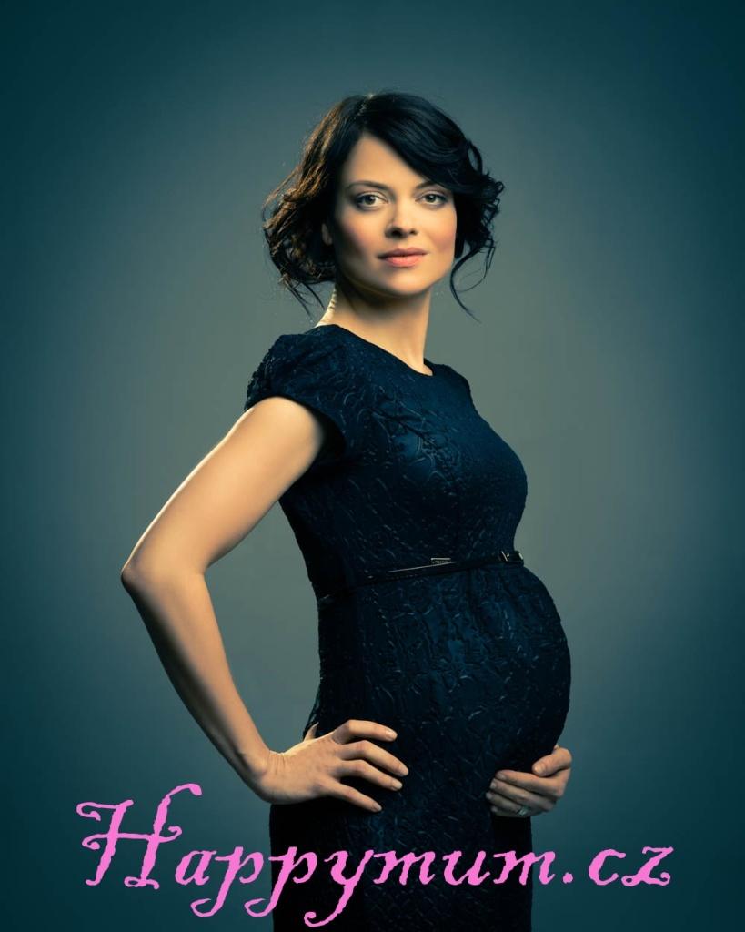 Jana Stryková v těhotenském oblečení Happymum