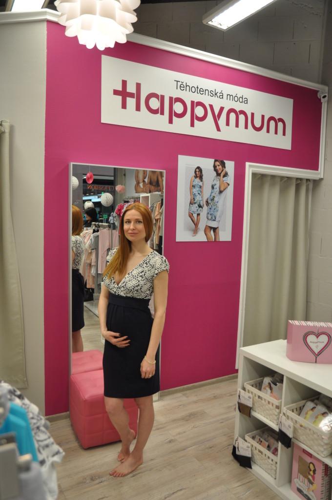 Romana Pavelková v těhotenském oblečení Happymum