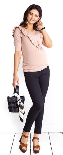 Těhotenské kalhoty Candy black trousers (t374d) - 1289 Kč 95a1b4d27d
