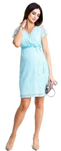 Těhotenské šaty Lovely mint dress (d932c) - Cena od  1539 Kč 3019aabfd5