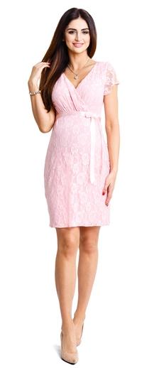 Těhotenské šaty Lovely pudre dress (d932d) - 1639 Kč 4760ce8444