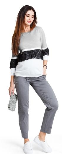 Těhotenské kalhoty Ginger grey trousers (t399b) - 1239 Kč b97054a1aa